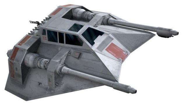 Star Wars Battlefront snowspeeder