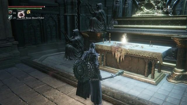 Bloodborne The Old Hunters altar