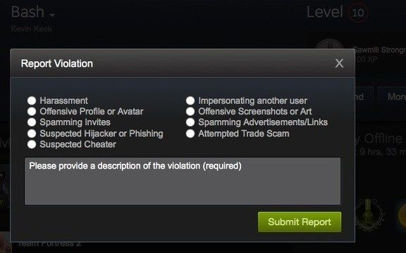 Power to the Devs, Steam Allows Developers to Make Bans