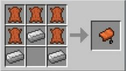 minecraft saddle recipe for taming horse