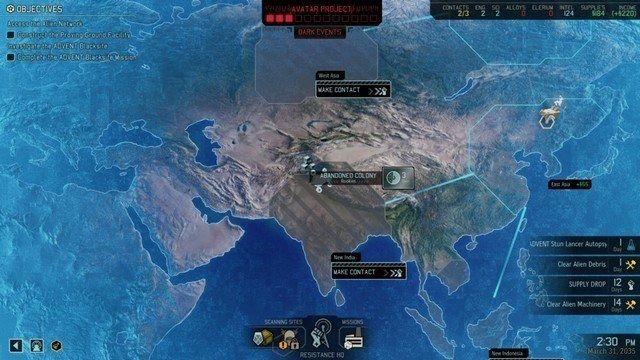 XCOM 2 global map
