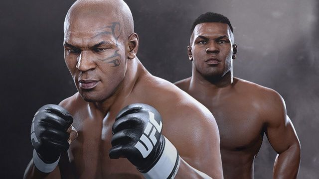2 versions of mike tyson
