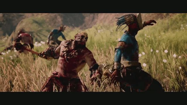Far Cry Primal Red Tribe Vs Blue Tribe