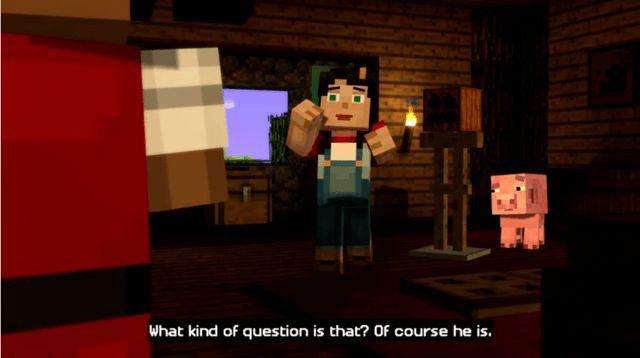 Minecraft Story Mode Guide Episode 1 Part One Minecraft