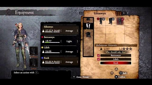 Dragon's Dogma equipment