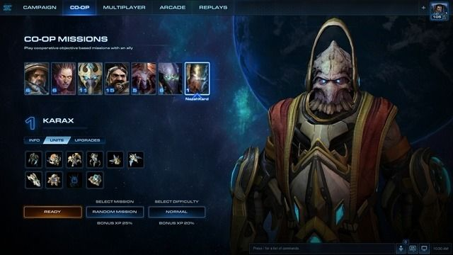 karax now in starcraft 2 allied commanders