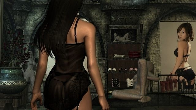 nude females Skyrim
