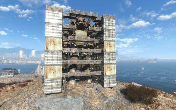fallout 4 giant mech