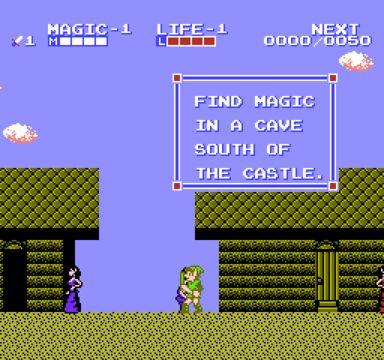 Rewind Review The Legend Of Zelda Ii Adventure Of Link Zelda Ii