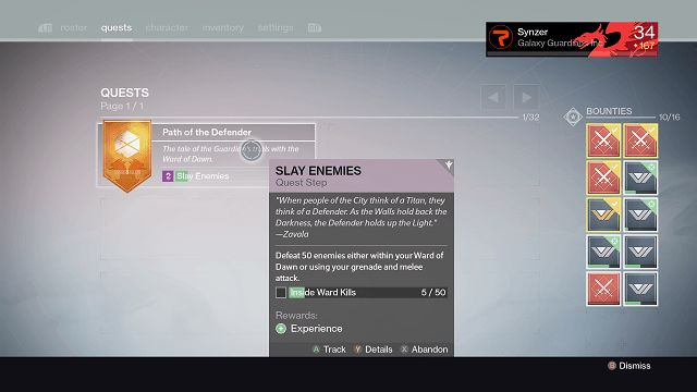 destiny subclass quest