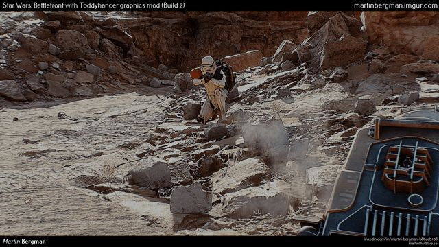 Crazy Star Wars Battlefront PC mod makes visuals look