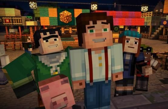 Minecraft: Story Mode Episode 2 is available this week