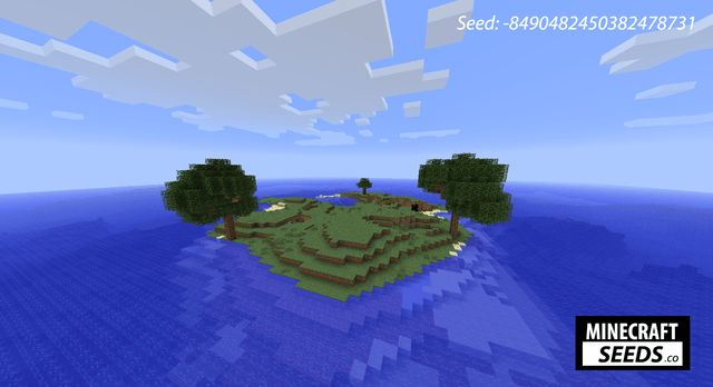 Minecraft xbox 360 seeds survival island (one tree, 12 mushroom.