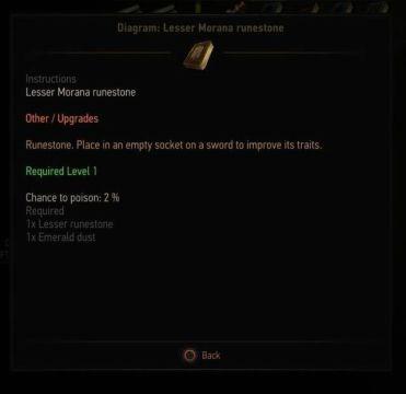 The Witcher 3: Wild Hunt - Guide to Runestones, Runestone Diagrams ...