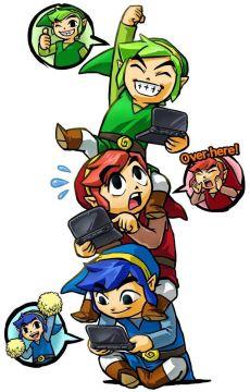 The Legend of Zelda: Tri Forve Heroes Multiplayer Communication