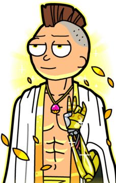 Pocket mortys rock type and un typed morty deck guide for Rick and morty craft list