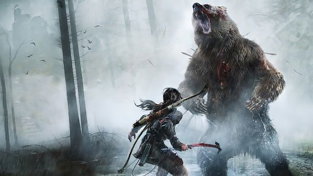 Image result for rise of the tomb raider woman vs wild