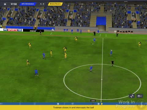 Football Manager 2016 simulation gameplay.