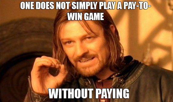 Resultado de imagen de pay to win memes