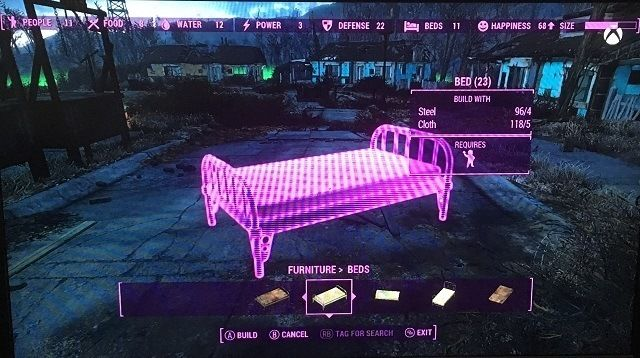Fallout 4 settlements furniture