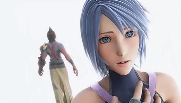 Aqua and Terra in the opening cinematic.