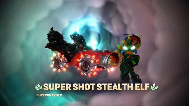 Skylanders Superchargers Stealth Elf