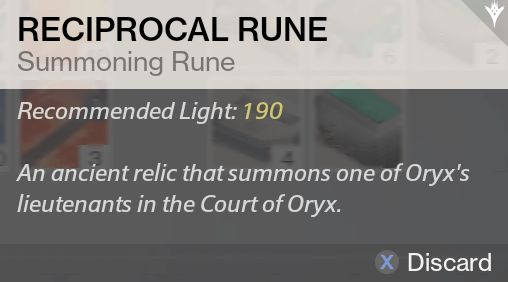 Destiny court of oryx tier 1
