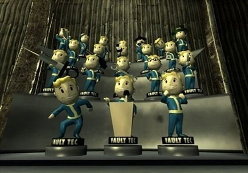 All Vault-Tec Bobbleheads on Display