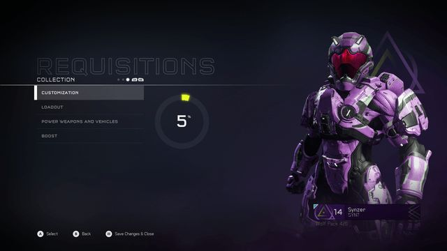 Halo 5 requisitions