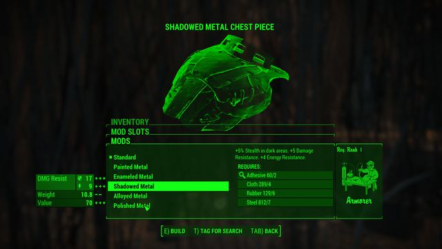 Shadowed Metal Chest Piece fallout 4 better power armor mod descriptions