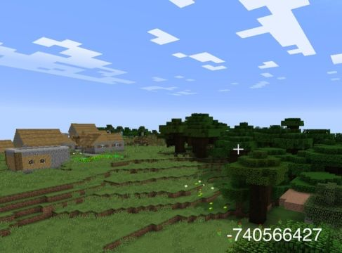 Minecraft seed for fans of excellent tree houses.