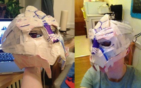 Garrus Cosplay Mask Tutorial