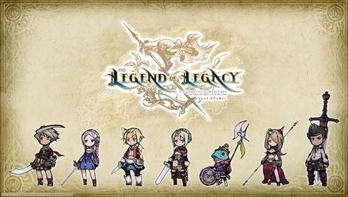 Legend of Legacy's roster of playable characters.