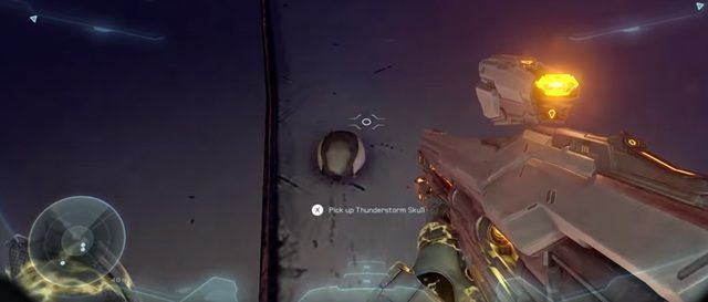 Halo 5 Thunderstorm Skull
