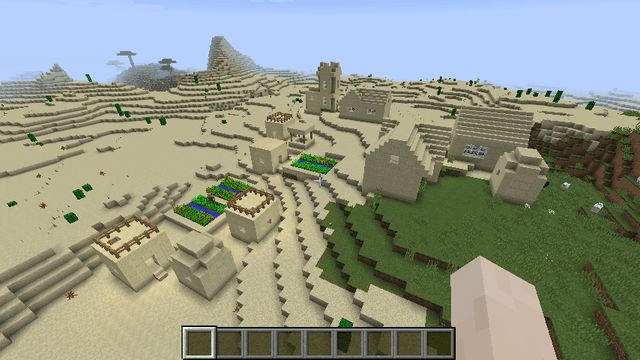 minecraft more villages seed