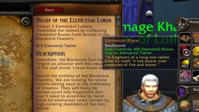 WoD Legendary Quest
