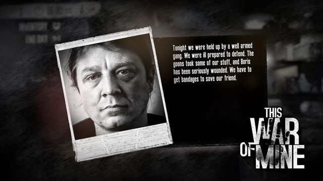 This War of Mine Boris