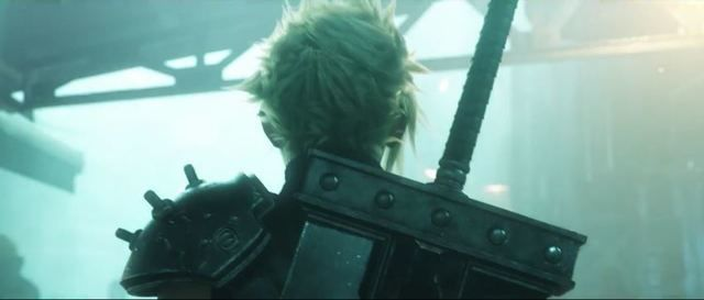 Screenshot of Final Fantasy VII Remake. E3 2015.