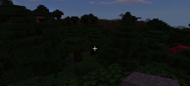 Minecraft forest trees