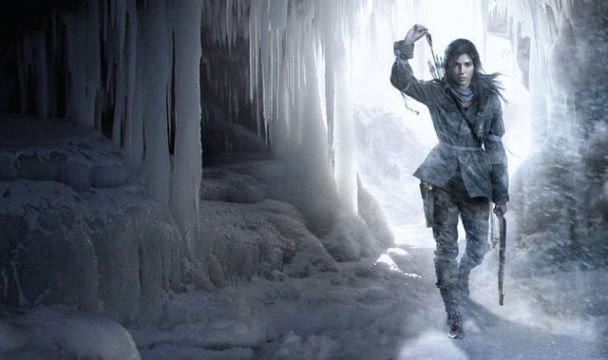 Promotional shot of Rise of the Tomb Raider, as revealed in the E3 2015 Square Enix Conference.