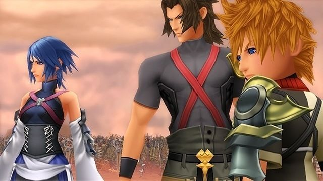 Terra, Aqua, and Ventus from Birth by Sleep