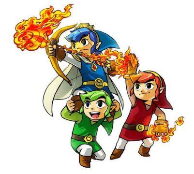 The Legend of Zelda: Tri Forve Heroes Items Combat