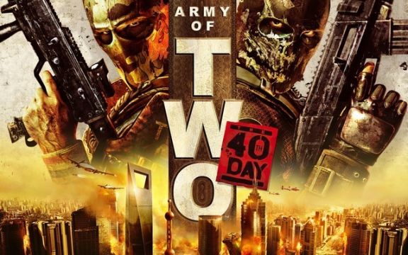 Army of Two the 40th day cover art