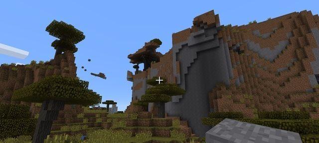 Minecraft savanna mesa