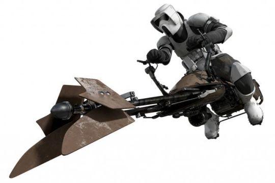 Star Wars Battlefront speeder bike