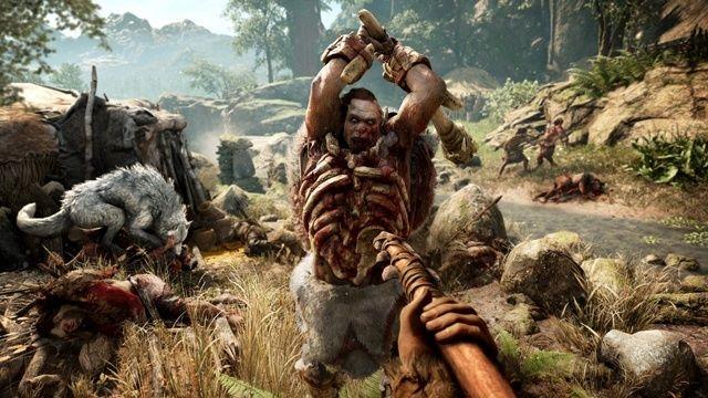Far Cry Primal close combat