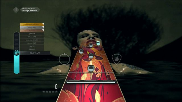 Marilyn Manson Disposable Teens Guitar Hero Live GHTV Bar Chords