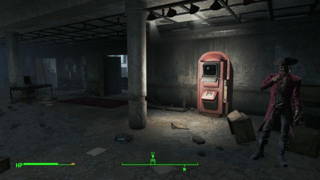 Boston Public Library 2nd Book Return Terminal Fallout 4