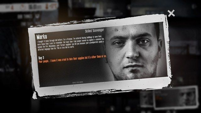 This War of Mine Marko
