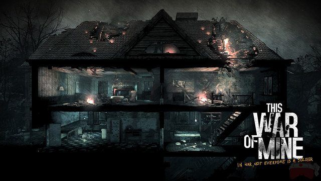 This War of Mine: The Little Ones scavenging